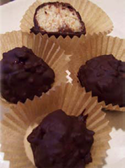 Delicious Chocolate Covered Coconut Truffles...